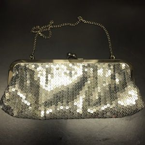 Sequin purse